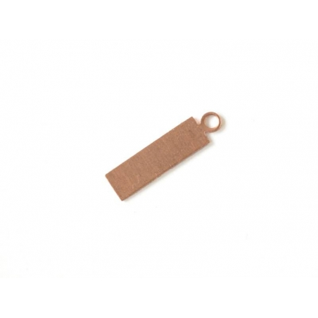 Stamping blank - Rectangle - copper-coloured
