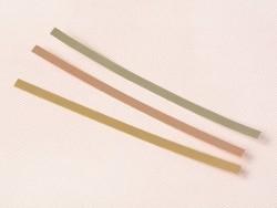 Längliche Gravurplatte - silberfarben