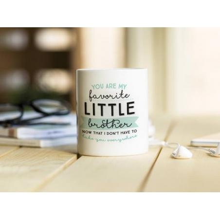 """Acheter Mug """"Little brother"""" - 14,90€ en ligne sur La Petite Epicerie - 100% Loisirs créatifs"""