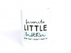 "Mug ""Little brother"" Mr Wonderful  - 1"