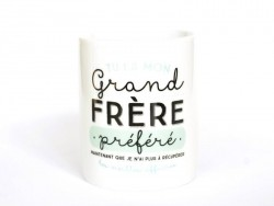 "Mug ""Grand frère"" Mr Wonderful  - 1"
