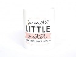 "Mug ""Little sister"" Mr Wonderful  - 1"