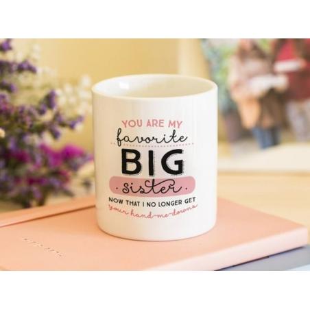 """Mug - """"Big sister"""""""