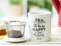 "Mug à thé ""Tea with superpowers"""