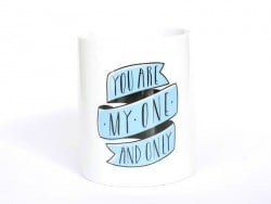"Mug ""You are my one and only"" Mr Wonderful  - 1"