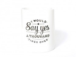 "Mug ""I would say yes a thousand times over"""