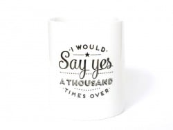 "Mug ""I would say yes a thousand times over"" Mr Wonderful  - 1"