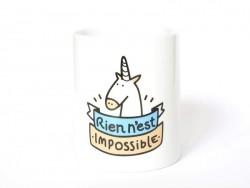 """Tasse - """"Rien n'est impossible"""" (Nichts ist unmöglich)"""