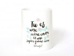 """Mug """"mère en or"""""""
