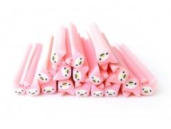 Acheter Cane My melody rose pâle- en pâte fimo - à trancher - 0,49€ en ligne sur La Petite Epicerie - Loisirs créatifs