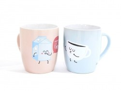 "Duo de mug ""Coffee"" Mr Wonderful  - 1"