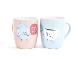 "Duo de mug ""Café"" Mr Wonderful  - 1"