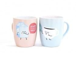 """Duo de mug """"Café"""""""