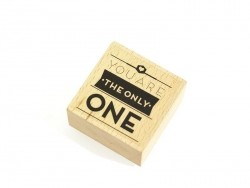 "Tampon ""only one"" Mr Wonderful  - 1"