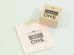 "Tampon ""only one"""