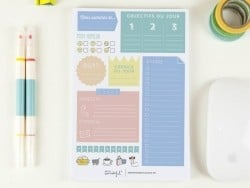 Activity planner (in French)
