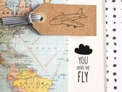 "Décalcomanies ""You make me fly"""