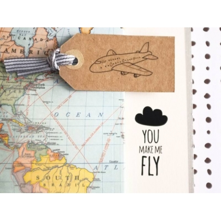 """Décalcomanies """"You make me fly"""""""