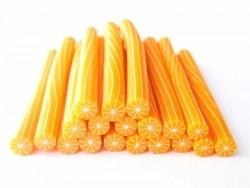 Orangencane - geschält