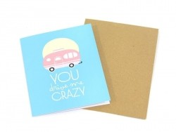 "Carte ""Crazy"" Mr Wonderful  - 1"