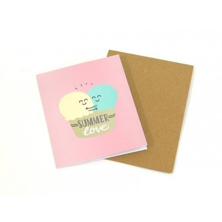"""Carte """"Summer love"""""""