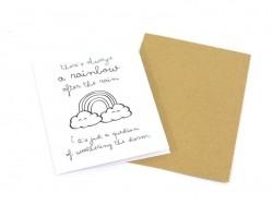 """Card - """"Rainbow"""""""