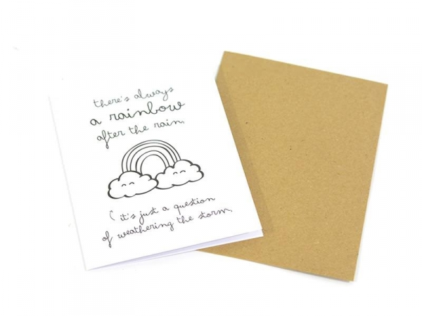 "Carte ""rainbow"" Mr Wonderful  - 1"