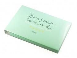 """Album bébé """"Bonjour le monde"""" Mr Wonderful  - 1"""