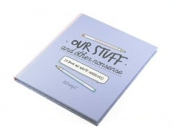 "Livre ""Our stuff"""