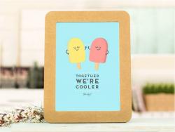 """Poster - """"Together we're cooler"""""""