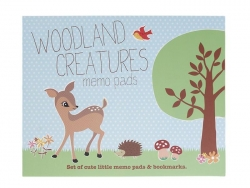 Post-it-Set - Woodland