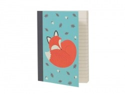 A6 notebook - Rusty the fox