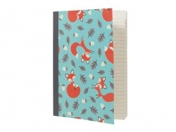Cahier A5 Rusty the fox  Dotcomgiftshop - 1