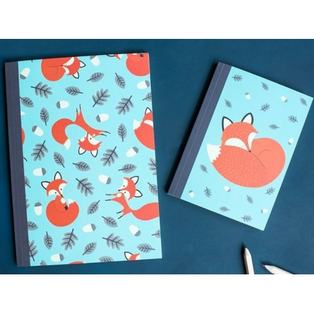 Cahier A5 Rusty the fox  Dotcomgiftshop - 2