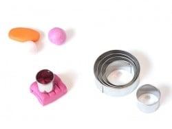 6 Ausstechformen aus Metall - Kreise