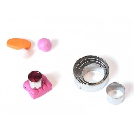 Acheter 6 emporte-pièces circulaires en métal - 6,95€ en ligne sur La Petite Epicerie - 100% Loisirs créatifs