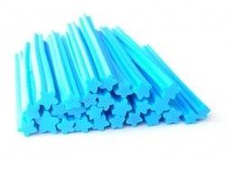 Cane étoile bleue- en pâte fimo - à trancher  - 1
