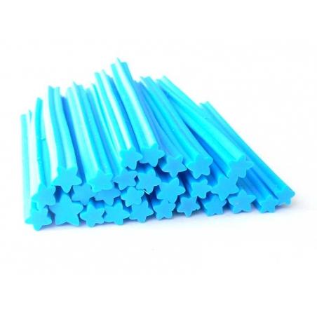 Star cane - blue