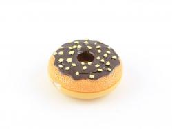 Gloss donut glaçage chocolat et noisettes