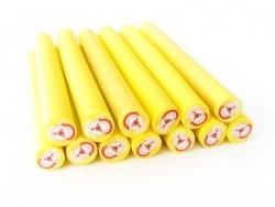 Acheter Cane Père-Noël - rond jaune - 0,49€ en ligne sur La Petite Epicerie - Loisirs créatifs