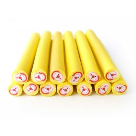 Acheter Cane Père-Noël - rond jaune - 0,99€ en ligne sur La Petite Epicerie - Loisirs créatifs