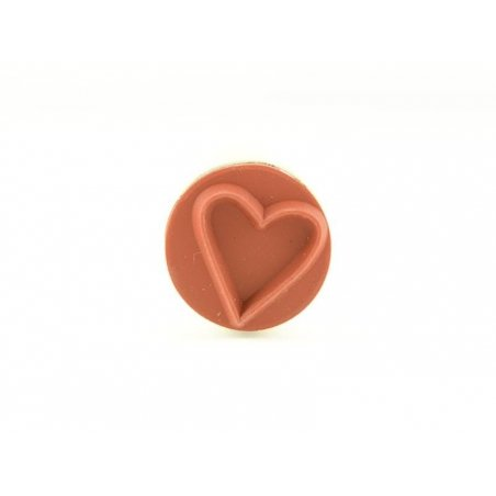 Mini stamp - heart