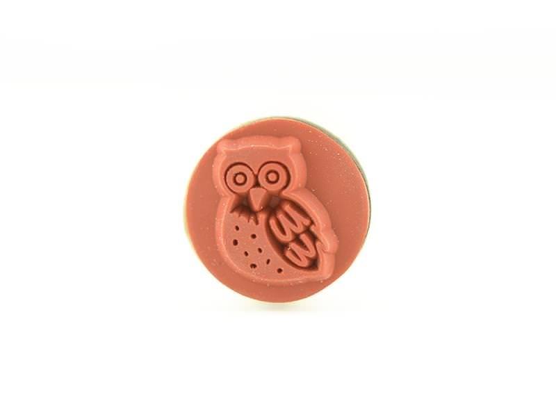 Mini stamp - owl