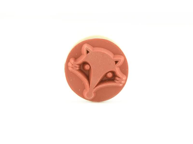Mini stamp - fox