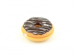 Lipgloss - Donut mit Schokoladenglasur und Zuckerguss