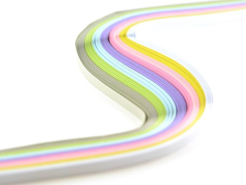 Acheter Bandes de papier pour quilling pastel - 8mm - 4,70€ en ligne sur La Petite Epicerie - Loisirs créatifs