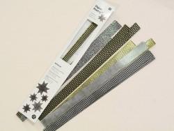 Origami paper strips - Magnetic black