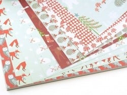Design paper pad - Winter wonderland