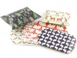 6 pillow boxes - Winter wonderland