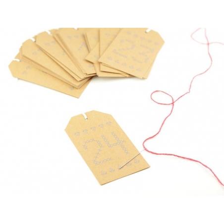 Acheter Etiquette de l'avent en kraft - 4,75€ en ligne sur La Petite Epicerie - 100% Loisirs créatifs